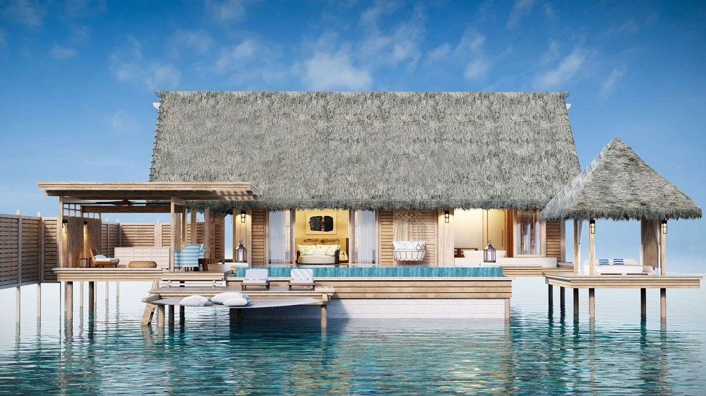 Waldorf Astoria Ithaafushi Maldives exterior