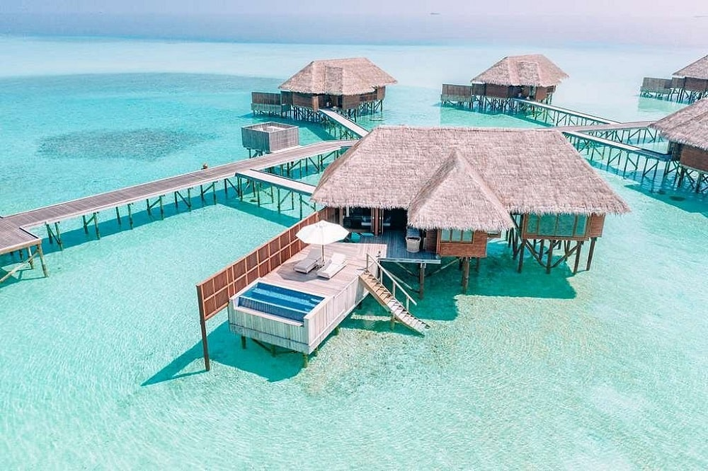 Conrad Maldives Rangali Island exterior
