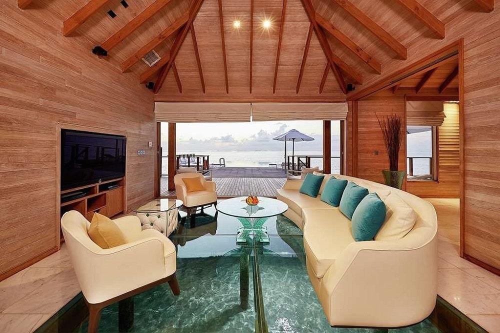 Conrad Maldives Rangali Island lobby