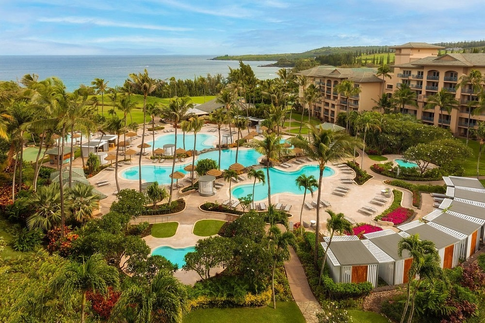Ritz-Carlton, Kapalua (Maui, Hawaii) exterior