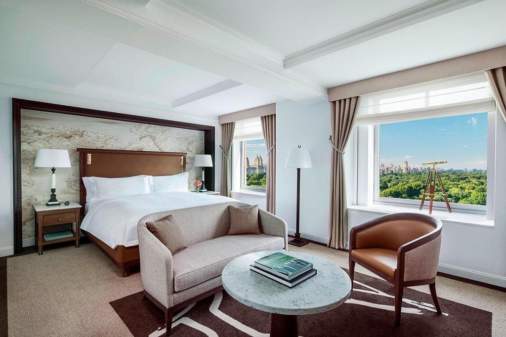 Ritz-Carlton New York, Central Park interior