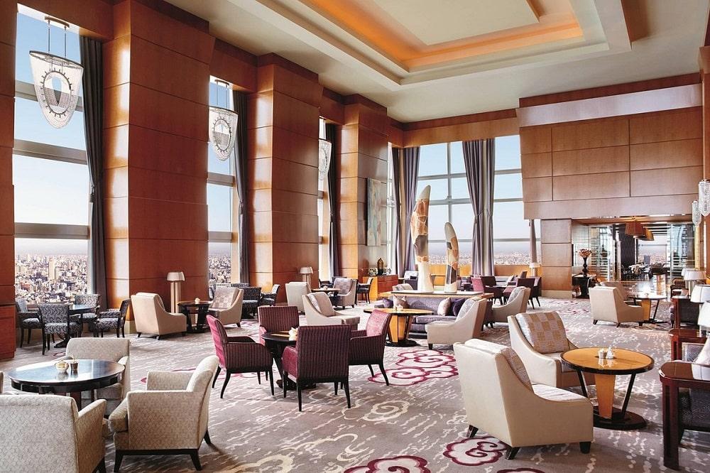 Ritz-Carlton Tokyo (Japan) lobby
