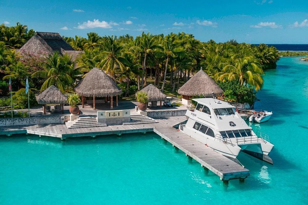 The St. Regis Bora Bora Resort (French Polynesia) exterior