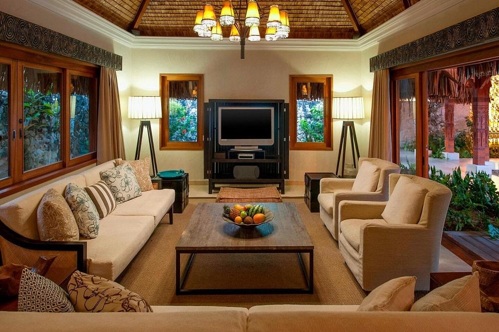 The St. Regis Bora Bora Resort (French Polynesia) lobby
