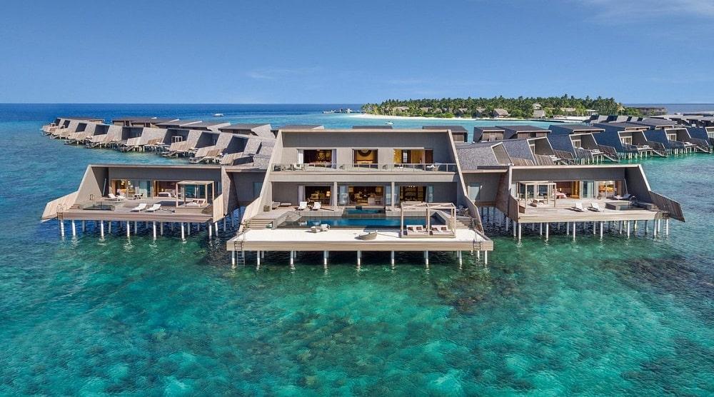 The St. Regis Maldives Vommuli Resort exterior
