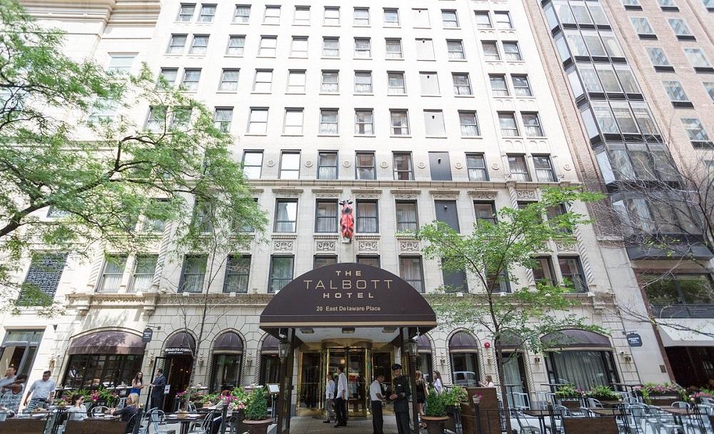 The Talbott Hotel (Chicago) exterior