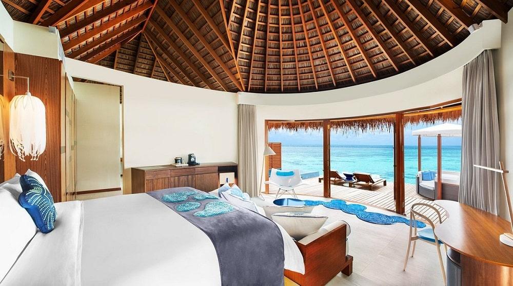 W Maldives interior